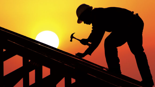Our roofing proffesionals are equipped to handle any job!